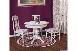 Обеденная группа с круглым столом - Мебельная фабрика «Актуаль-М»