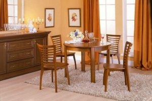 Обеденная группа с круглым столом - Мебельная фабрика «Агата»