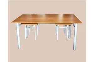 Обеденная группа с подвесными табуретами - Мебельная фабрика «Мартис Ком»