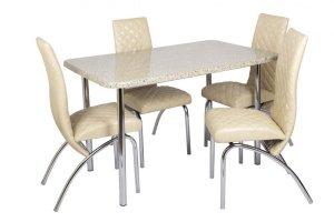 Обеденная группа со столешницей Дуолит С-750 - Мебельная фабрика «СоюзРегионПоставка»