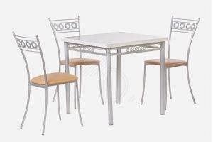 Обеденная группа / стол Алькор 1 и стул Греция - Мебельная фабрика «Дебют»
