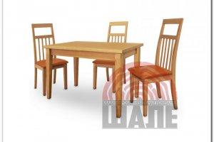 Обеденная группа стол и стул МЭДИСОН - Мебельная фабрика «ВМК-Шале»