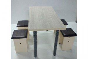 Обеденная группа стол и табуреты - Мебельная фабрика «RNG»