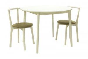 Обеденная группа стол Орион и стулья Туринс - Импортёр мебели «Мебвилл»