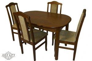 Обеденная группа Стол ВМ 32 и стулья М 32 - Мебельная фабрика «Логарт»