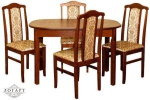 Обеденная группа Стол ВМ30 + стулья М30 - Мебельная фабрика «Логарт»
