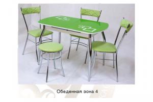 Обеденная группа 4 - Мебельная фабрика «Ri-Rom»
