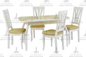 Стол и стулья Обеденная зона 46 - Мебельная фабрика «Classen»