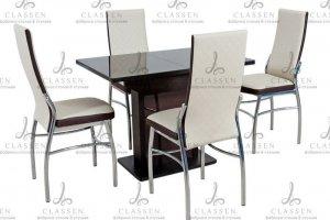 Стол и стулья Обеденная зона 71 - Мебельная фабрика «Classen»