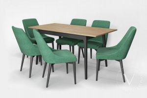 Обеденная зона Хюгге-3 - Мебельная фабрика «ВерноКухни»