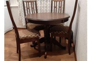 Обеденная зона с круглым столом - Мебельная фабрика «Рамзес»
