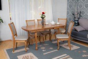 Обеденная зона стол и стулья - Мебельная фабрика «Багсан»