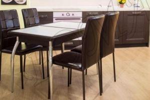 Обеденная зона стол СТМ-14ПК и стул Неаполь - Мебельная фабрика «RoMari»
