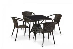 Обеденный комплект из искусственного ротанга - Мебельная фабрика «Афина-Мебель»