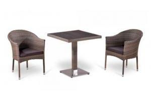 Обеденный комплект плетеной мебели - Мебельная фабрика «Афина-Мебель»