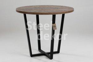 Обеденный стильный стол - Мебельная фабрика «Steel Dekor»