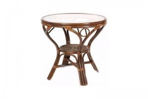 Обеденный стол 02/09A из ротанга - Импортёр мебели «Радуга»