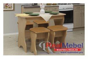 Обеденный стол без ящиков - Мебельная фабрика «RealMebel»