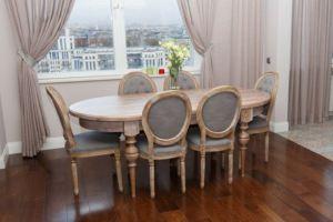 Обеденный стол и стул из дуба - Мебельная фабрика «Furniture Design»