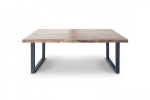 Обеденный стол из слэба карагача Айрон - Мебельная фабрика «WOODGE»
