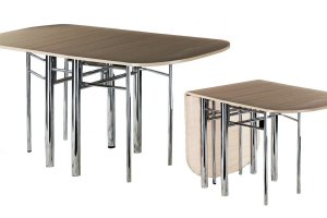 Обеденный стол-книжка - Мебельная фабрика «Bella mebel»