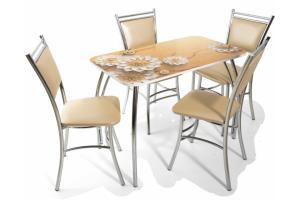Обеденный стол Лилия - Мебельная фабрика «Бител»