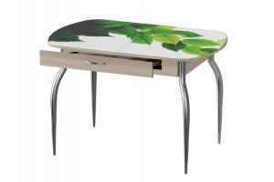 Обеденный стол Прага фотопечать - Мебельная фабрика «Ивару»