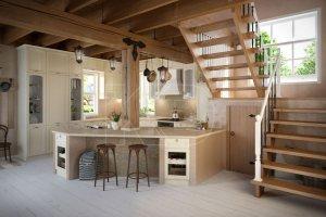 образец современной классики кухня Эмилия - Мебельная фабрика «Кухонный двор»