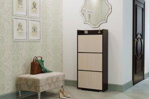 Обувница венге белфорд большая - Мебельная фабрика «Handis»