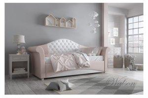 Односпальная интерьерная кровать Bella - Мебельная фабрика «Walson»