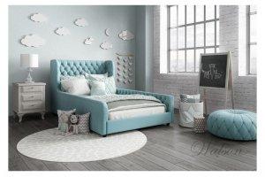Односпальная интерьерная кровать Lory - Мебельная фабрика «Walson»