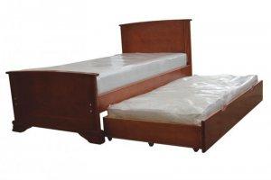 Односпальная кровать Ева с дополнительным спальным местом - Мебельная фабрика «Мебель Мастер»