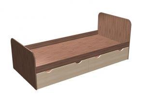 Односпальная кровать с ящиками ДКЯ-3 М3 - Мебельная фабрика «Калина»