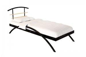 Односпальная металлическая кровать Сакура - Мебельная фабрика «Стиллмет»