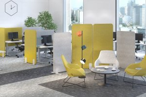 Офисная мебель Lavoro acoustic - Мебельная фабрика «LEPOTA»