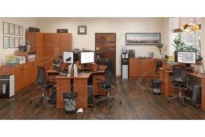 Офисная мебель МДФ Логика Сауф - Мебельная фабрика «Ладос-мебель»