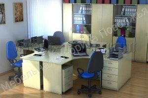 Офисная мебель Оптима - Мебельная фабрика «Поволжье»
