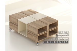 Офисный стол - Мебельная фабрика «Победа»