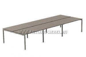 Офисный стол Бенч-система - Мебельная фабрика «Артикул-Мебель»
