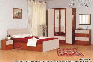 Спальный гарнитур Оливия - Мебельная фабрика «Дара»