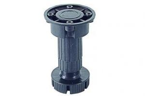 Опора 150х180 мм без винта (черный) - Оптовый поставщик комплектующих «КДМ»