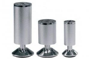 Опора мебельная 587А (38*100) хром (10*) - Оптовый поставщик комплектующих «Виком»