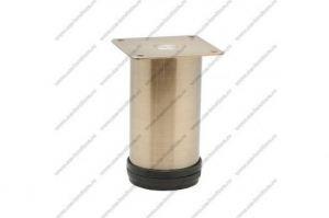 Опора регулируемая 100 мм бронза - Оптовый поставщик комплектующих «Модерн-Стиль А»