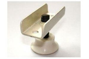 Опора регулируемая М8 скоба бел. (25*300*) - Оптовый поставщик комплектующих «Виком»