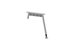 Опора стола (с опорой на тумбу) AOS-0012 (G) - Оптовый поставщик комплектующих «Миниформ»