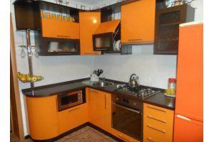 Оранжевая кухня - Мебельная фабрика «АРТ МАРО»