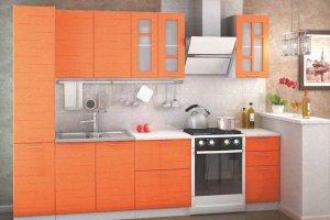 Оранжевая кухня Техно - Мебельная фабрика «Стайлинг», г. Киров