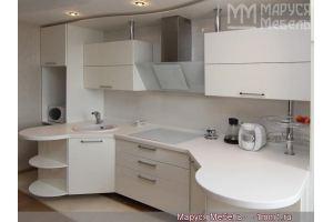 Оригинальная Симметричная кухня из МДФ - Мебельная фабрика «Маруся мебель»
