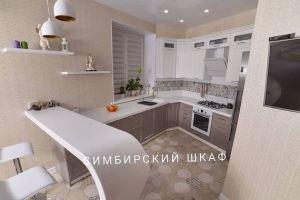 Оригинальная угловая кухня МДФ - Мебельная фабрика «Симбирский шкаф»