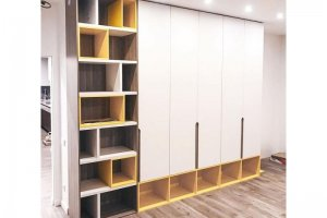 Оригинальный шкаф для детской комнаты - Мебельная фабрика «КУБ»
